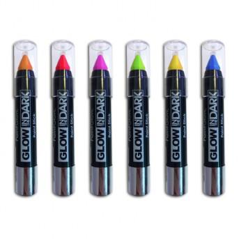 Crayon pour Corps qui Brille dans le Noir