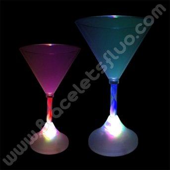 Coupe avec Lumière Martini
