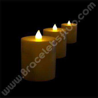 Bougie Fluorescente 7 x 6,3 cm
