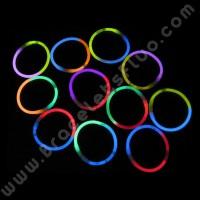 Bracelets Fluo Bicolores (100 u.)