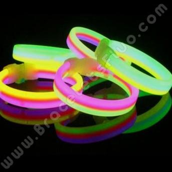 Bracelets Fluo Triples (33 u.)