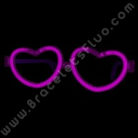 8cff71210a7af8 Lunettes Fluo de coeur individuelles (1 u.)