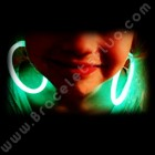 Boucles d'oreille Fluo arrondies