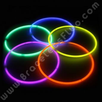 Colliers Fluo Unicolores (50 u.)