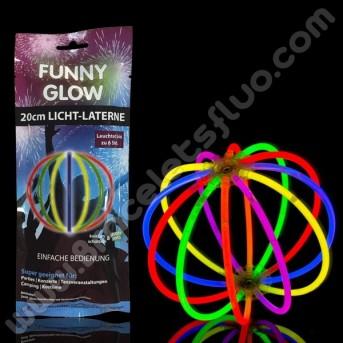 Sphère Fluorescente Unicolore Individuelle (1 u.)