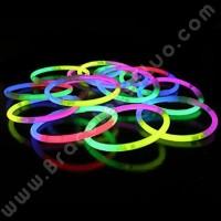 Bracelets Fluo Tricolores (100 u.)