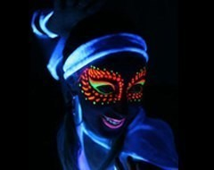 Maquillage Fluo Phosphorescent